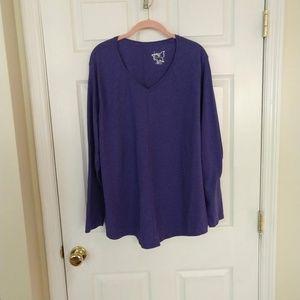 Just My Size T-Shirt - Size 3X - Purple